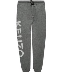 sweatpants with a logo