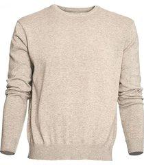 sweater cuello redondo melange claro mcgregor