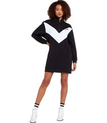 korte jurk wrangler sweatshirt-robe