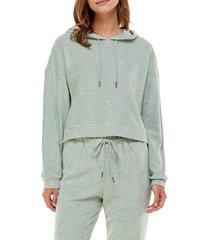 women's wayf '98 luke oversize hoodie, size x-small - green