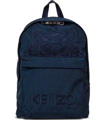 kenzo nylon blend backpack with logo