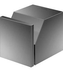 cabide para banheiro mínima grafite polido - 00960648 - docol - docol
