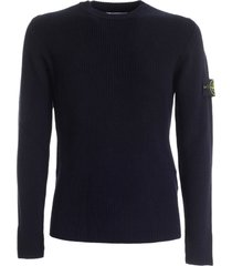 stone island ribbed sweater