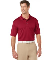 pga tour men's big and tall airflux solid golf polo shirt