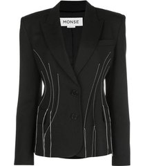 falling threads blazer