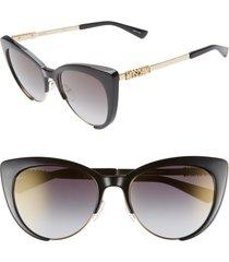 women's moschino 55mm cat eye sunglasses -