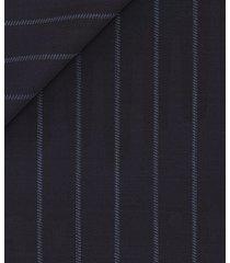 giacca da uomo su misura, guabello, twill super 130's blu, quattro stagioni | lanieri