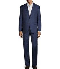 2-piece modern-fit tonal plaid suit