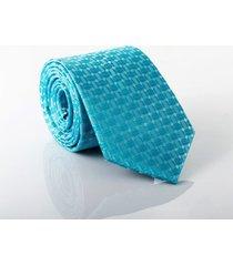 gravata isla galerias jacquard 1200 fios cor azul piscina