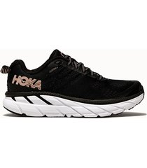 hoka one one sneakers clifton 6 colore nero