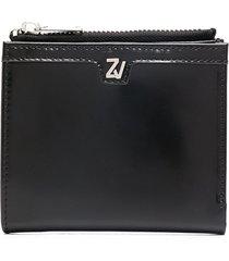 zadig & voltaire john square wallet - black
