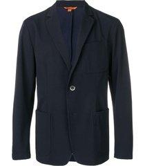 barena classic tailored blazer - blue
