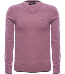 suéter aleatory gola v new masculino