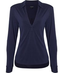 camisa claudia i (dark blue, gg)