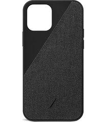 clic canvas iphone 12 case - black