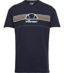 el lentamente tee t-shirts short-sleeved blå ellesse