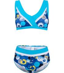 bikini maritim turquoise::royal blue
