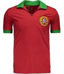 camisa portugal retrô n° 9 masculina