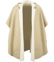 cashmere cape coat