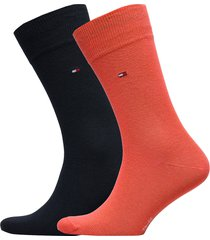 socks 2-pairs underwear socks regular socks orange tommy hilfiger
