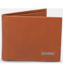 billetera básica de cuero para hombre 13165