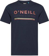 lm arrowhead t-shirt t-shirts short-sleeved blå o'neill