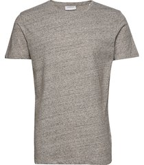 neps structure tee s/s t-shirts short-sleeved grå lindbergh