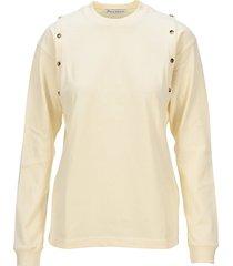 jw anderson button details t-shirt