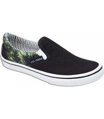 zapatilla negra all terra palmera