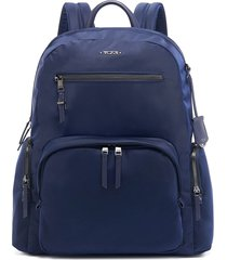 tumi carson multi-pocket backpack - blue