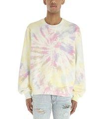 amiri tie-dye amiri hippy sweatshirt