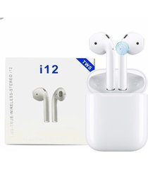 audifonos airpods i12 tws touch táctil bluetooth 5.0 stereo