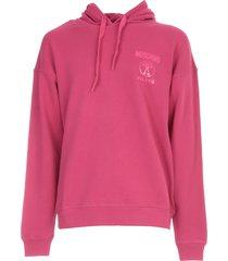 moschino mini logo hoodies sweatshirt