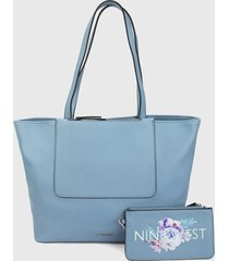 bolso azul nine west