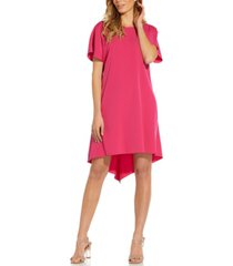 adrianna papell high-low a-line dress