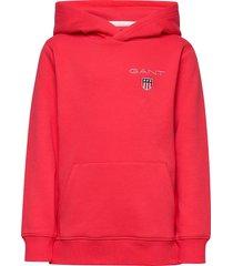 d1. medium shield sweat hoodie hoodie trui rood gant