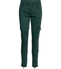 cuberita cargo pants pantalon met rechte pijpen groen culture