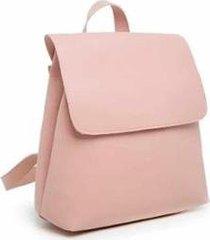 bolsa mochila feminina casual com fecho - feminino