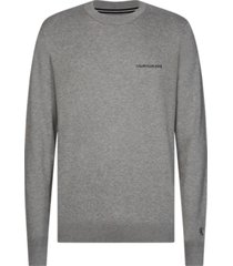 chest sweater gris calvin klein