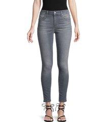 joe's jeans women's ankle-cropped skinny jeans - bagnolet - size 29 (6-8)