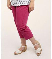 pantalón unicolor purpura 24