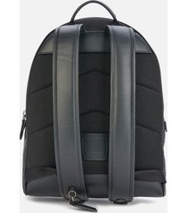 coach men's signature charter backpack - charcoal
