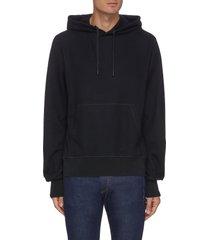 damon' wool hoodie