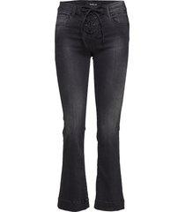 juny jeans wijde pijpen zwart replay