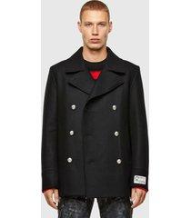 abrigo w bond jacket 9xx negro diesel