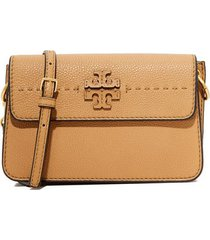 cartera tory burch mcgraw 40410 - baguete (beige)
