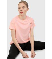 camiseta rosado under armour
