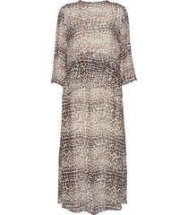 kathyiw dress knälång klänning beige inwear