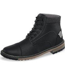 botines ixan negro para hombre croydon
