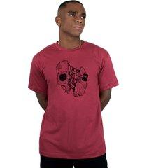 camiseta ventura gus vinho - vinho - masculino - dafiti